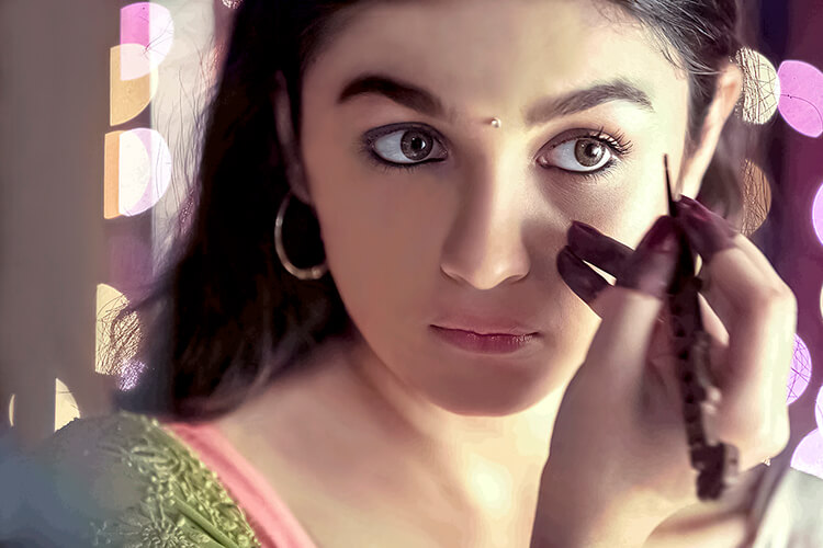 The beautiful Tamil ponnu – Alia Bhatt in 2 States