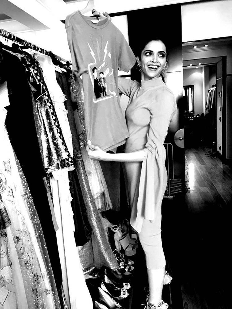 Deepika Padukone enjoying her time at Cannes