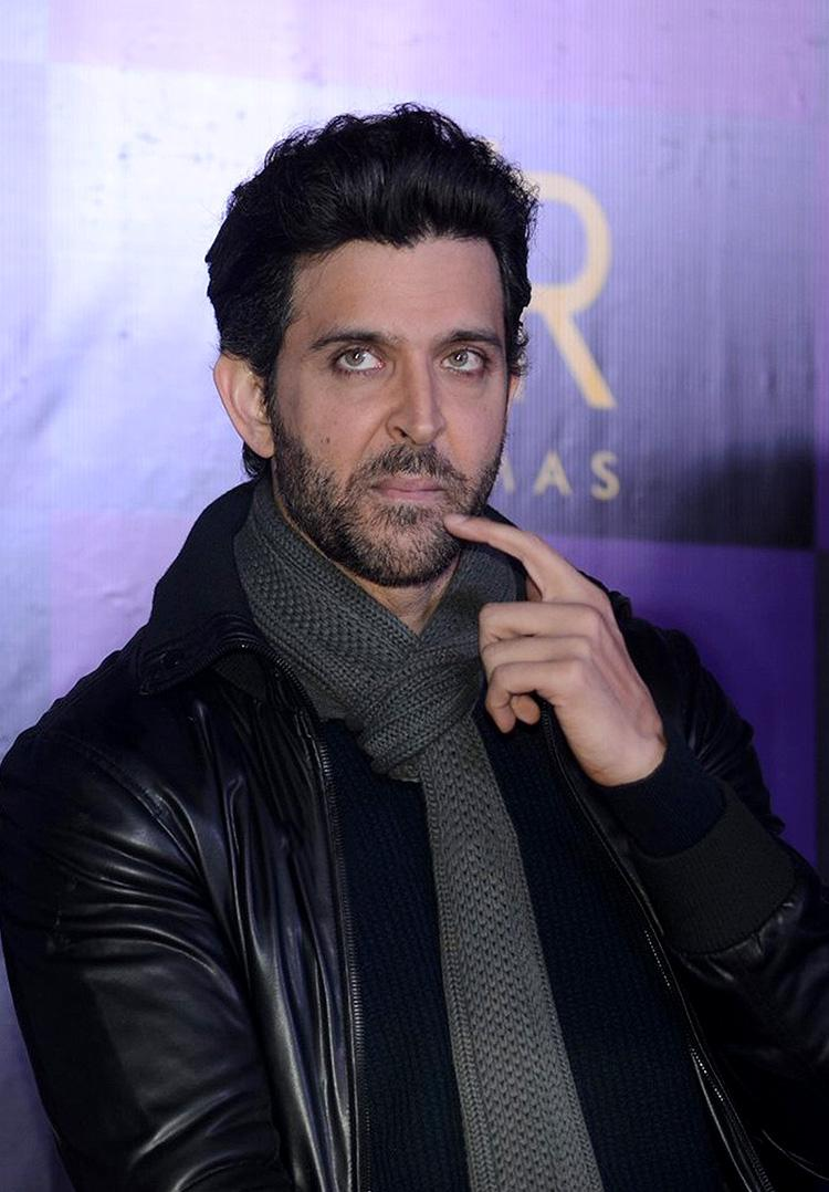 Hrithik seems to be indulged in some deep thoughts in this candid photo