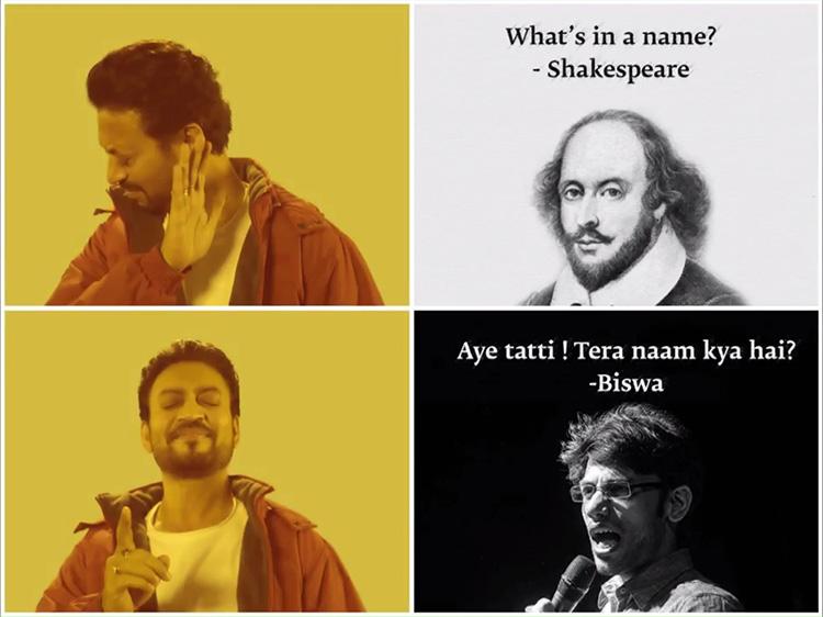 4irrfankhanbiswameme irrfan khan turns into memes for promoting hindi medium irrfan