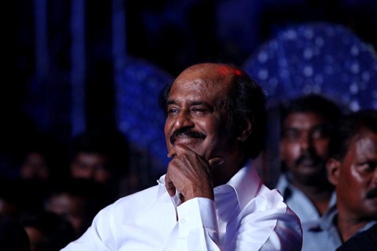 This candid photo of Rajinikanth is beautiful