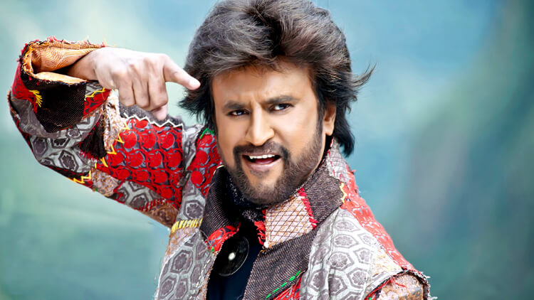 Rajinikanth in Robot movie still