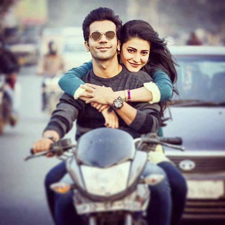 Rajkummar Rao and Shruti Haasan make an interesting pair for Behen Hogi Teri