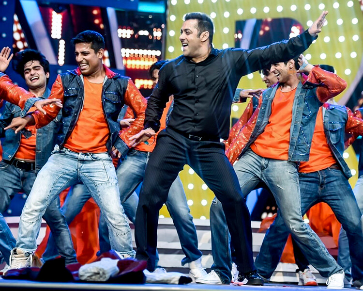 performance salman khan