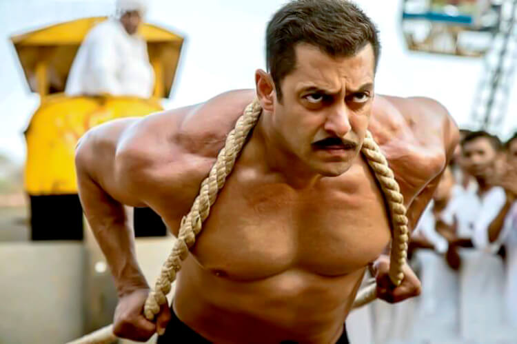 Salman Khan being Sultan