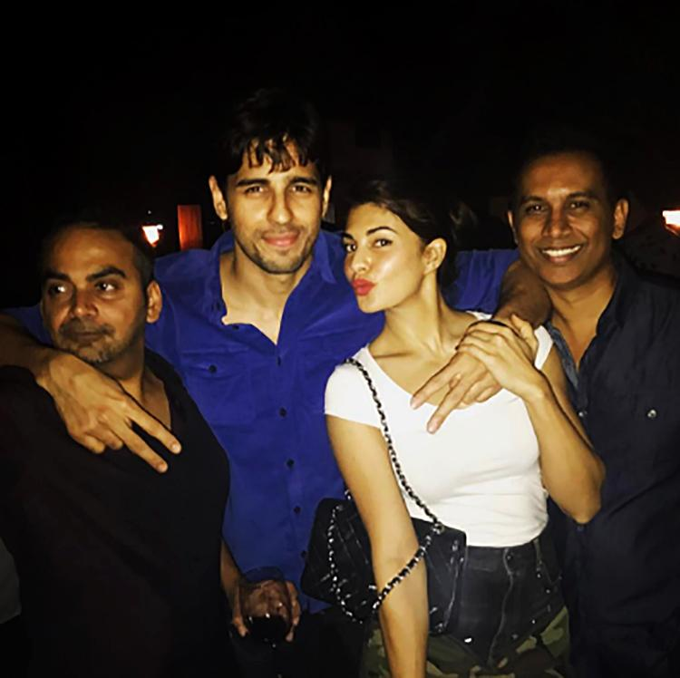Sidharth Malhotra's Instagram post with Jacqueline Fernandez