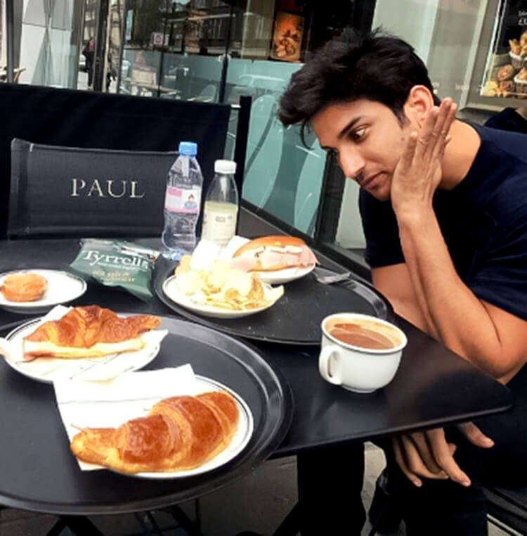 A snippet from Sushant Singh Rajput's personal London trip