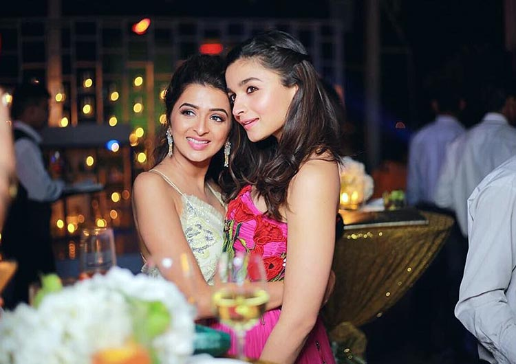 Alia Bhatt with her friend Kripa Mehta