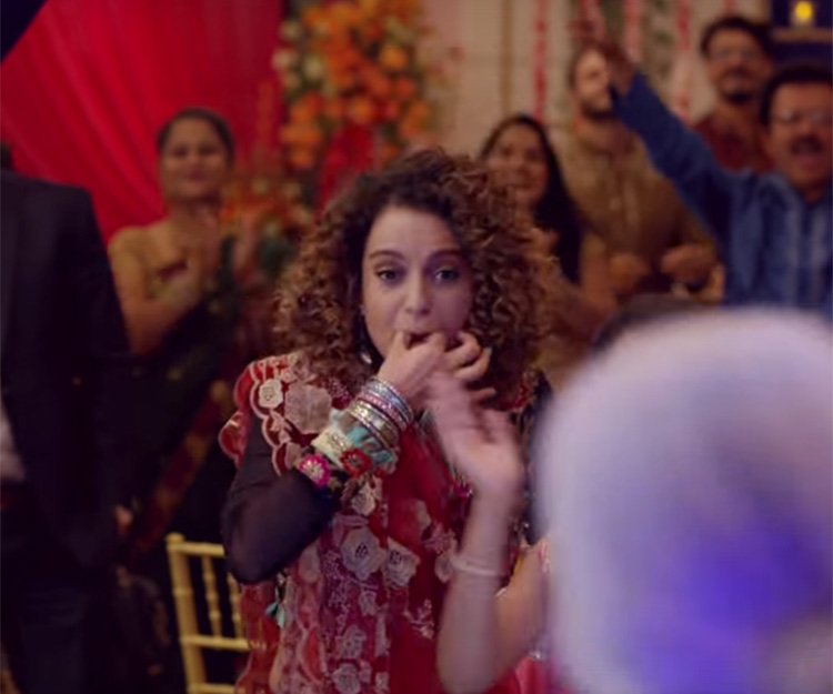 Kangana Ranaut gives some Tanu Weds Manu vibes too in Simran teaser