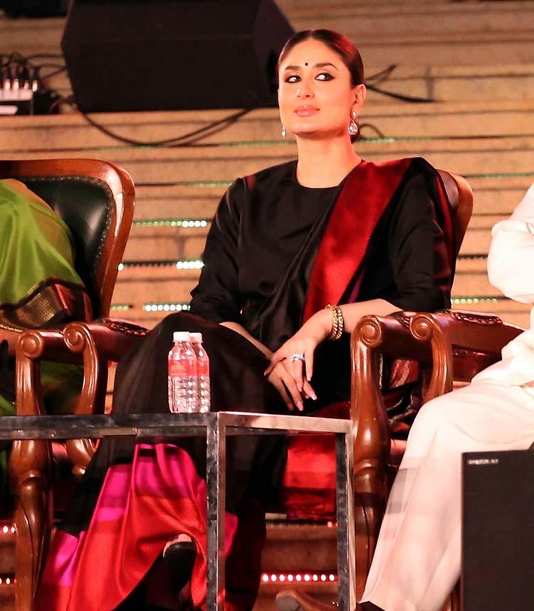 Kareena Kapoor snapped at the Bengaluru International Film Festival 2018