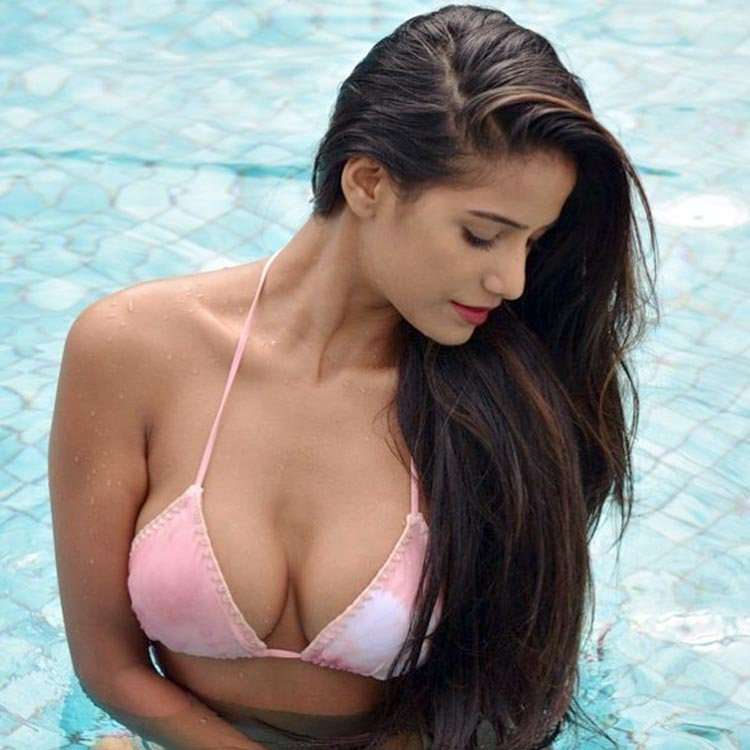 oonam Pandey is killing it with this pool pic