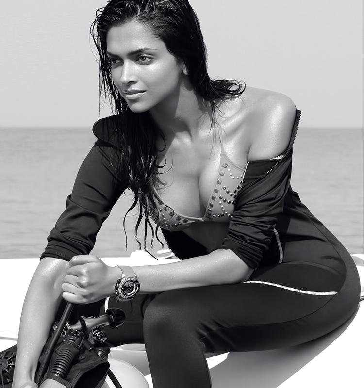 Sexy Deepika Padukone and her hot water babe look