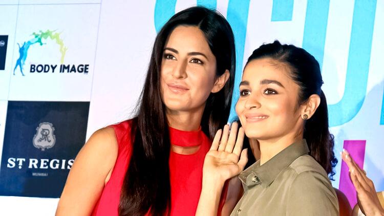 Katrina Kaif and Alia Bhatt share a candid moment