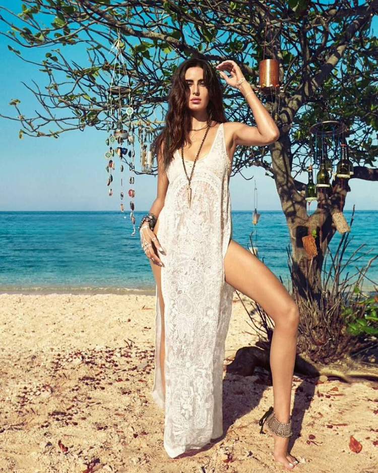 Katrina Kaif burns the pages of Vogue with her hot bikini look