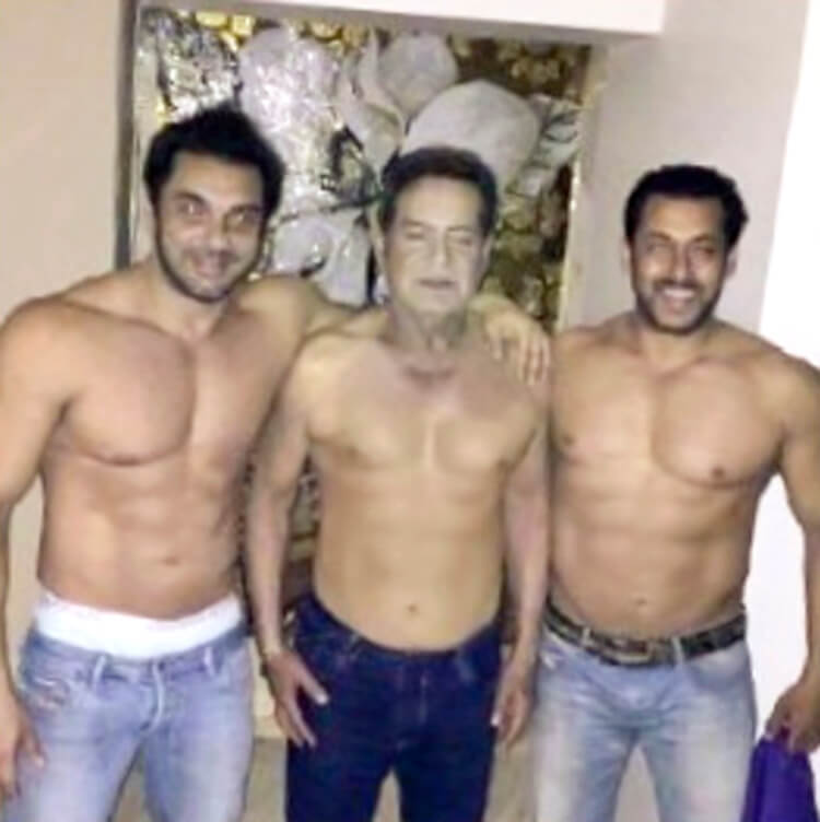 Salman Khan's personal photo with brother and father is uber-cute