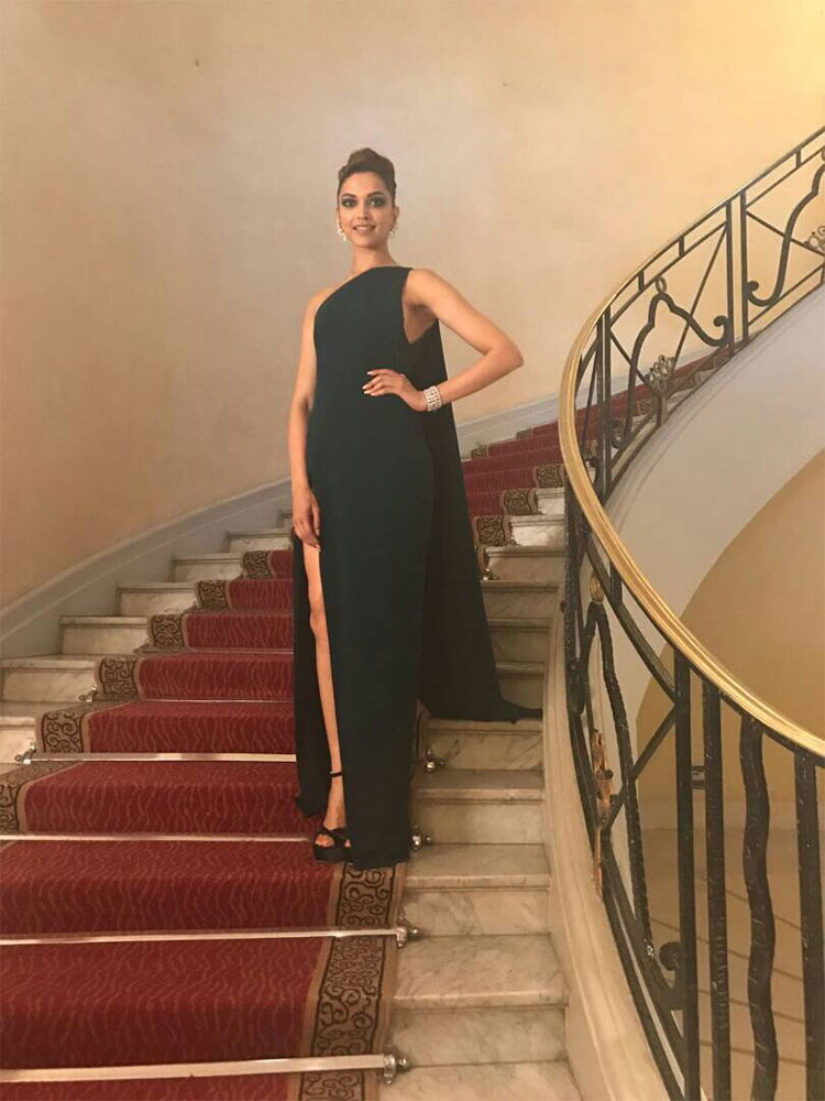 Deepika Padukone sizzling at the Cannes Film Festival 2017