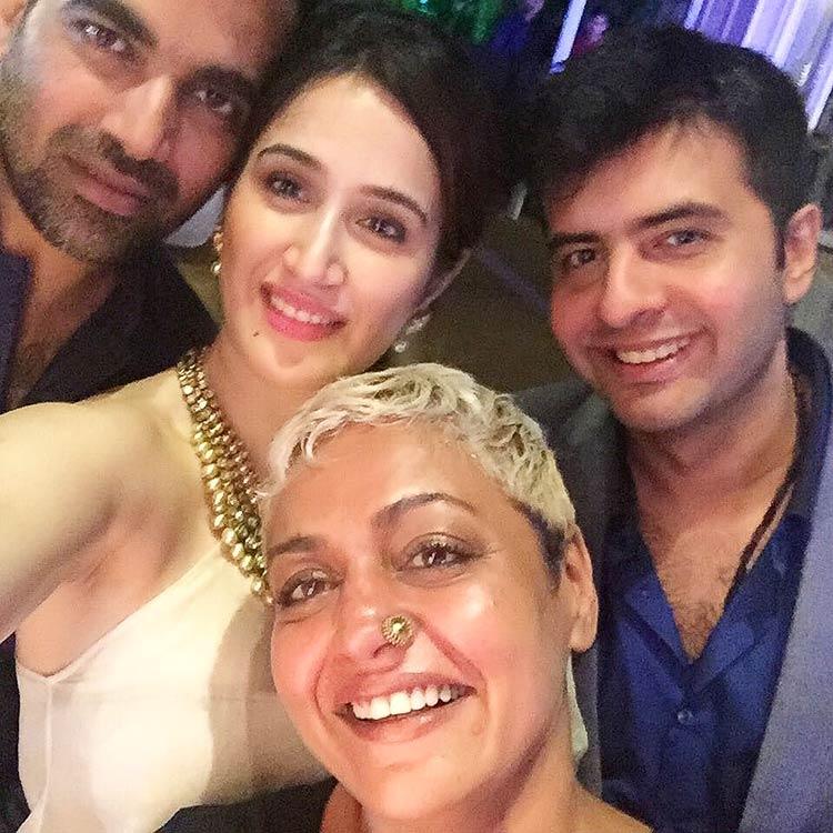 Sagarika Ghatge and Zaheer Khan are the cutest couple