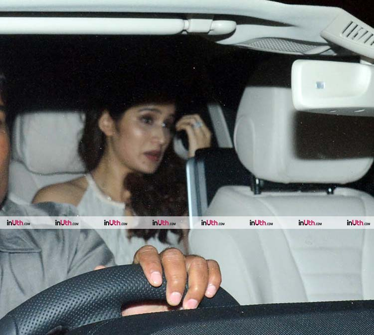 Sagarika Ghatge spotted in Mumbai