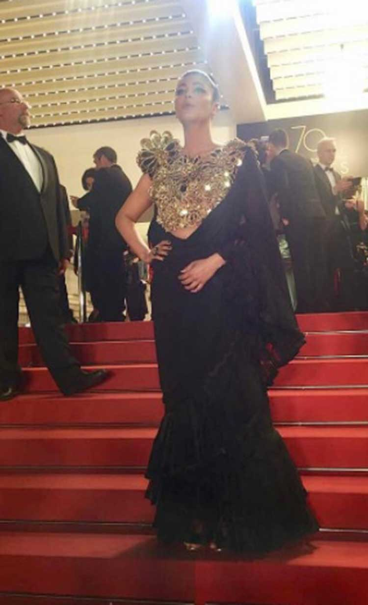 Shruti Hassan's magnificent elan on the Cannes red carpet