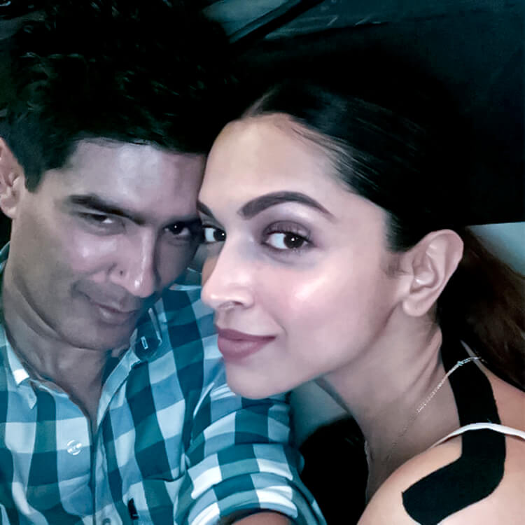 A glimpse of Deepika Padukone's personal party moments with Manish Malhotra