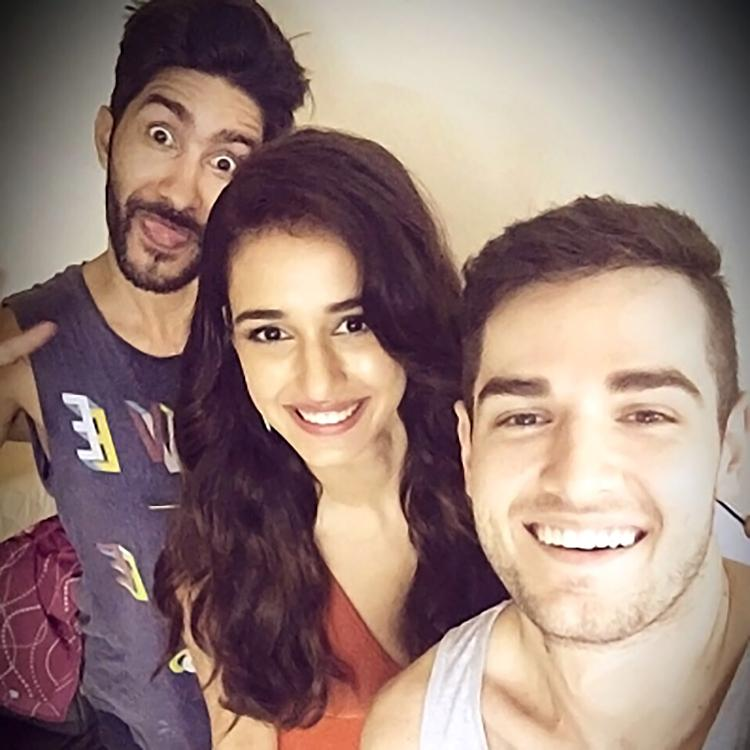 Disha Patani's personal photo with her 'boys'