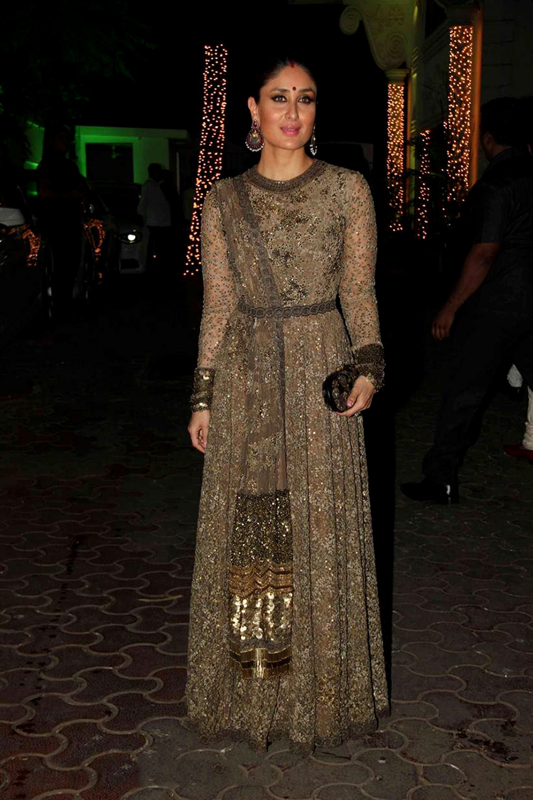 Kareena Kapoor at Shilpa Shetty's Diwali party