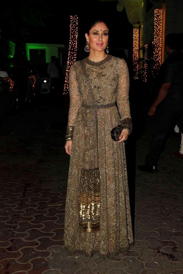 Kareena Kapoor at Shilpa Shetty's Diwali party