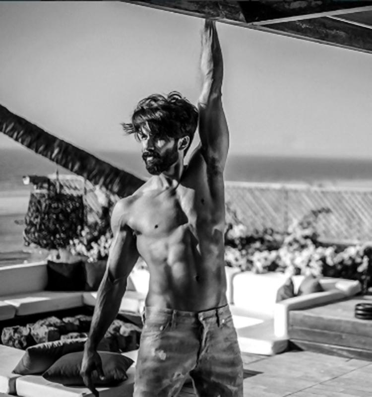 Shahid Kapoor in this insta pic is a treat to the eyes