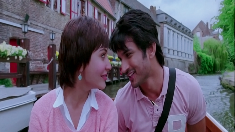 Sushant Singh Rajput in song Chaar Kadam from PK