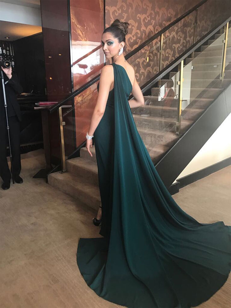 Deepika Padukone looking like a goddess at the Cannes Film Festival 2017