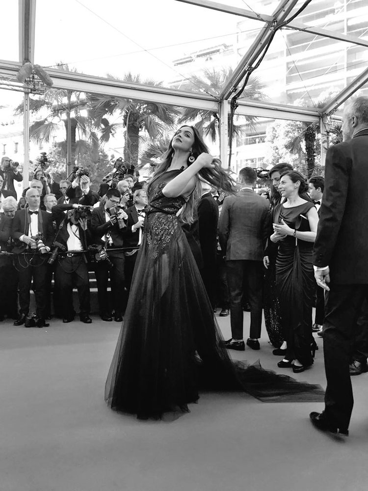 Deepika Padukone on the opening day of Cannes Film Festival 2017