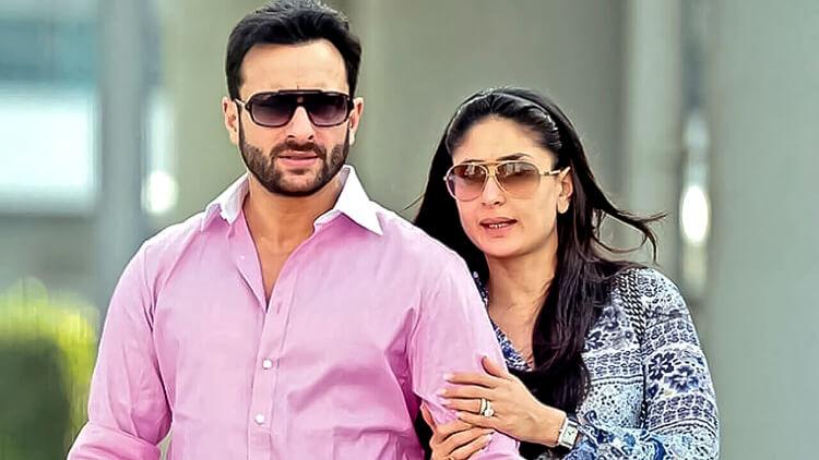 Kareena Kapoor clicked candid with husband Saif Ali Khan