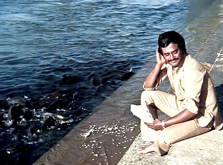 Rajinikanth in a still from Mullum Malarum