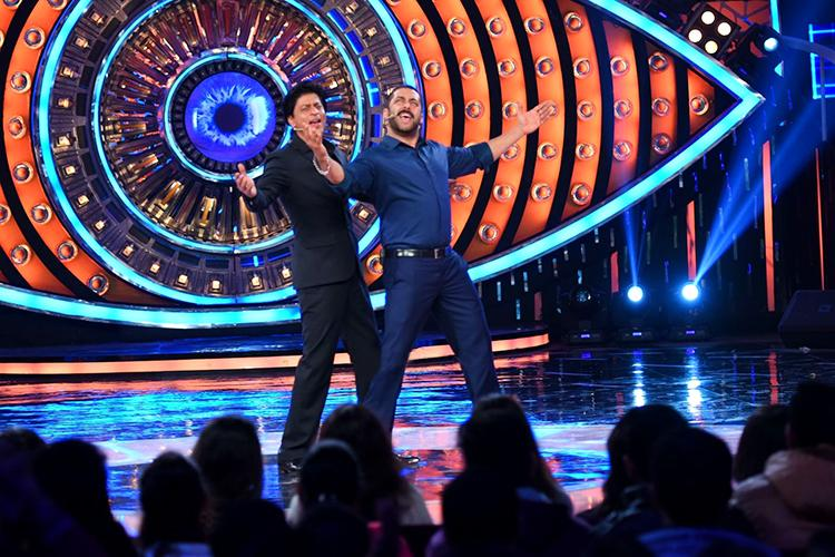 Shah Rukh Khan visiting Bigg Boss house was a big event for the fans