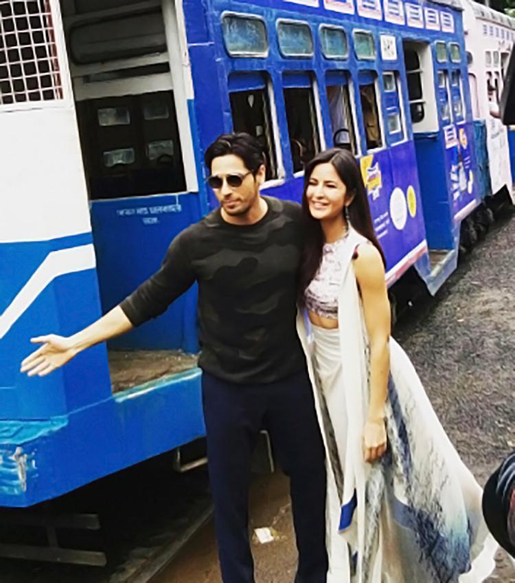 Sidharth Malhotra and Katrina Kaif go candid