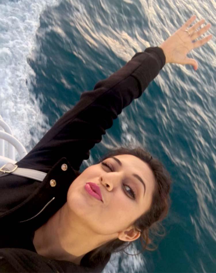 Divyanka Tripathi's super fun selfie