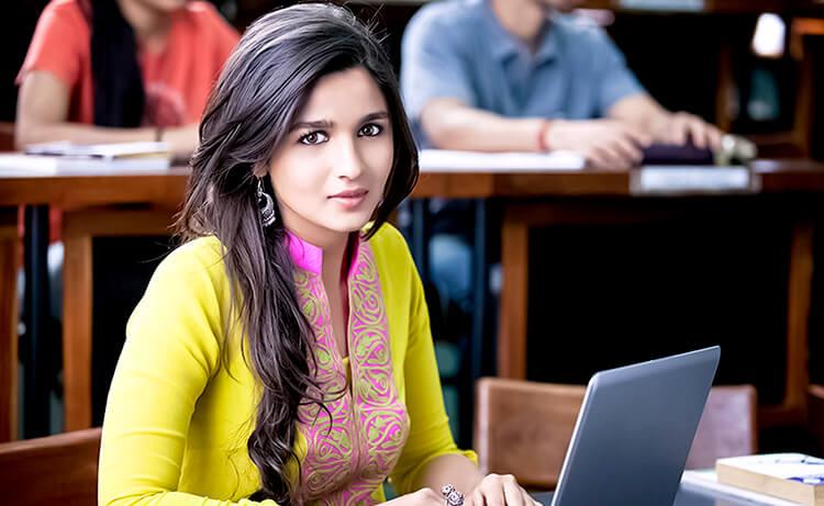 Alia Bhatt as Ananya in 2 States