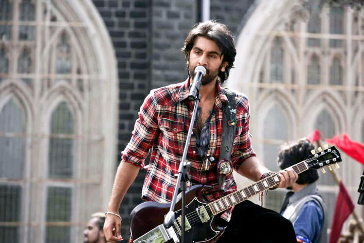 Ranbir Kapoor being the Rockstar