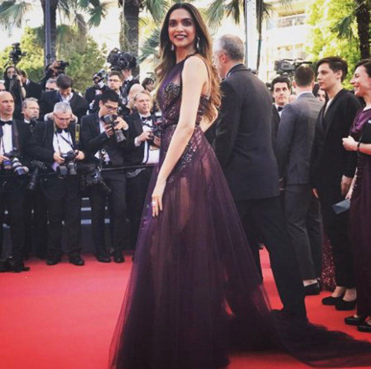 Deepika Padukone's killer Cannes look