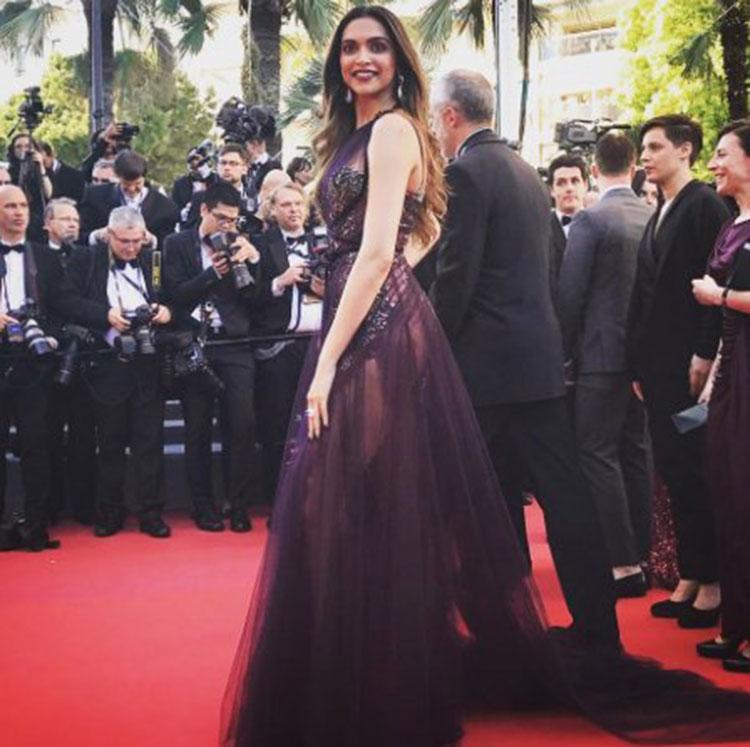 Deepika Padukone's killer Cannes look