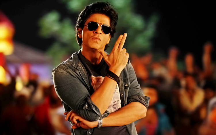 Shah Rukh Khan in a still from Chennai Express