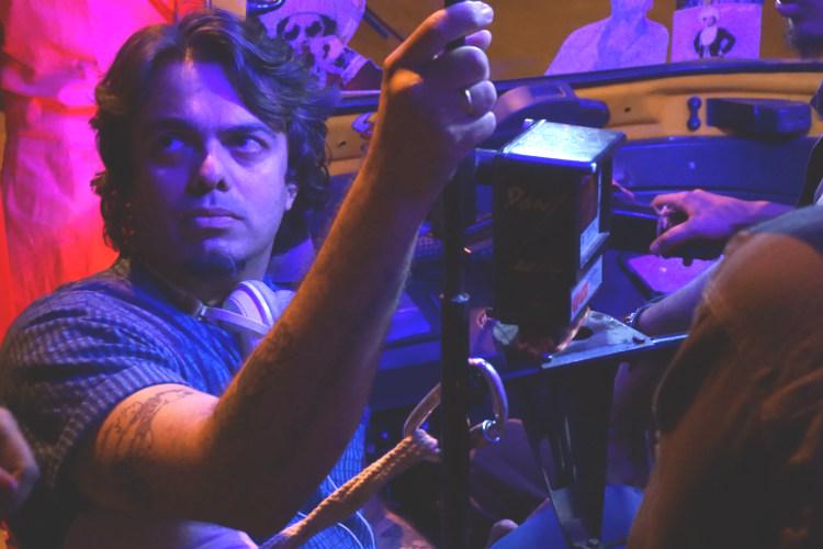 Aditya Kriplani on the sets of Tikli and Laxmi Bomb