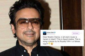 Adnan Sami Twitter, Adnan Sami Muslim clerics