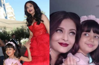Aishwarya Rai and Aaradhya Cannes 2017