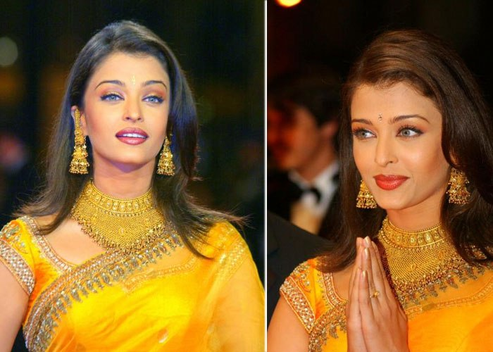 Aishwarya Rai Cannes 2002 look