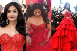 Cannes 2017: Aishwarya Rai Bachchan wears eye-popping gown as she walks the Red Carpet -- See Photos