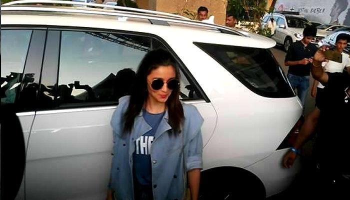 Alia Bhatt at Justin Bieber concert