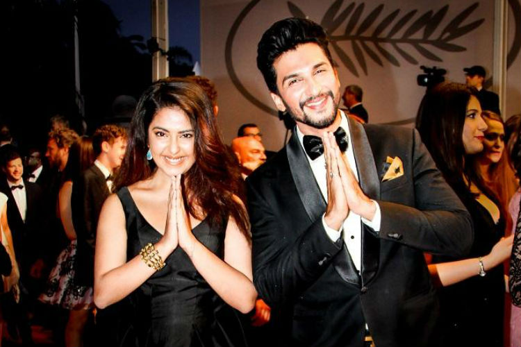 Avika Gor, Manish Raisinghan, Cannes 2017