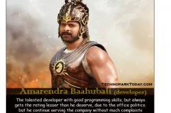 Photos: Baahubali turns IT Developer, Bhallaladeva 'Jealous Developer', these memes are absolutely hilarious