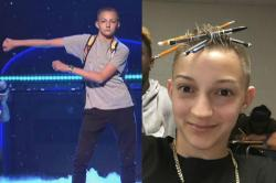Russell Horning aka Backpack Kid from Katy Perry's SNL performance is both weird and amazing